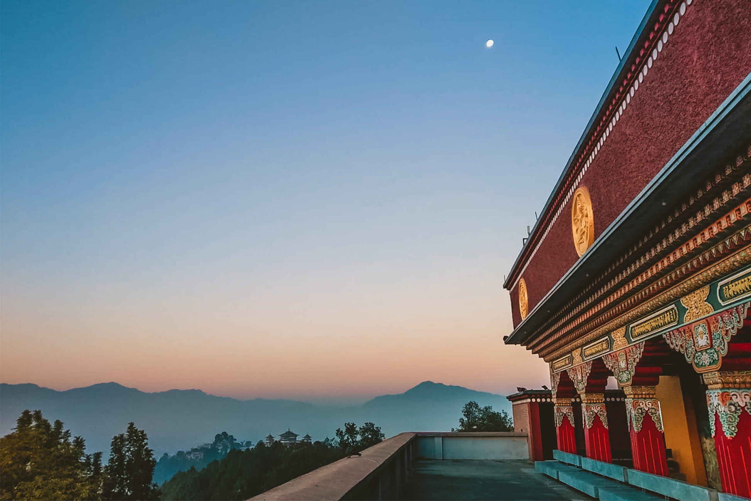2 weeks at The Pullahari Monastery in Nepal TItle